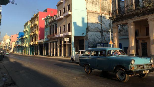 Calle Reina en Centro Habana. (14ymedio)