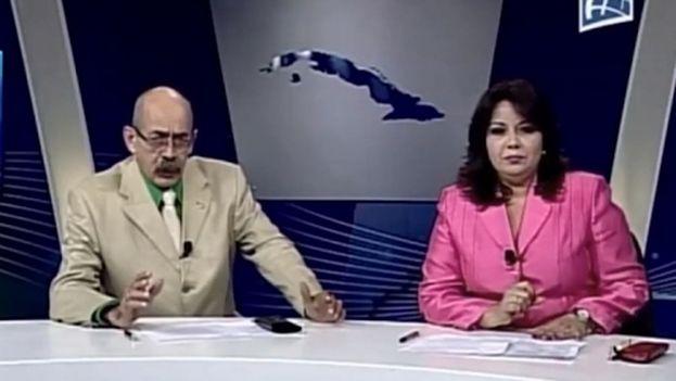 Captura de pantalla del noticiero nacional de la televisión cubana. (CC)