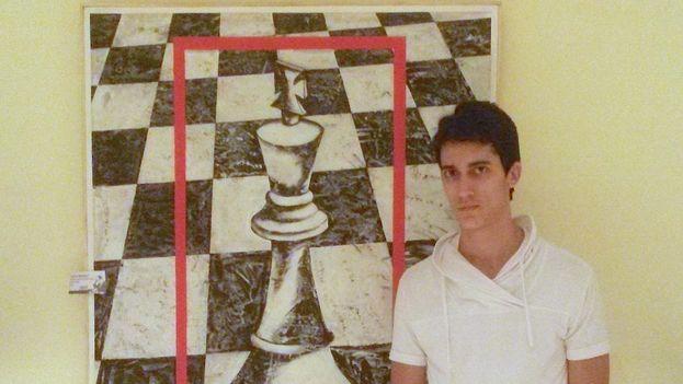 Carlos Antonio Hevia Alejano en el Torneo Capablanca. (14ymedio)