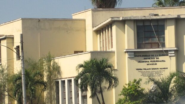 La clínica veterinaria de la calle Carlos III está adjunta a la Facultad de esa especialidad en La Habana. (Flickr)