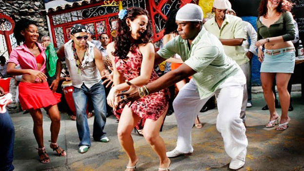 Cartel de un documental sobre la rumba cubana. (Redes)