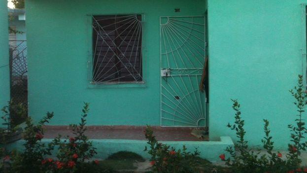 Casa donde vivía Yosvani Muñoz Robaina junto a su madre. (14ymedio)