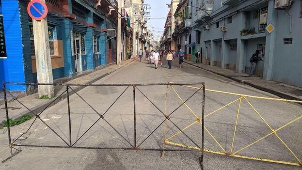 Cayo Hueso fue una de las primeras zonas de La Habana en entrar en cuarentena debido a la epidemia de covid-19. (14ymedio)