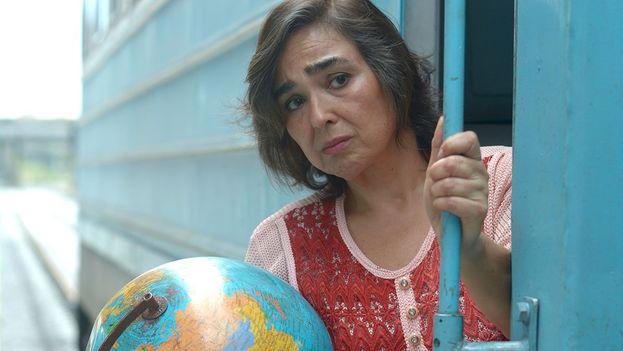 El film 'El extraordinario viaje de Celeste García' es el primero del director cubano Arturo Infante y está interpretado por la veterana actriz María Isabel Díaz. (Fotograma)