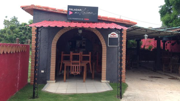 Cafetería cerrada en el aeropuerto de La Habana. (14ymedio)