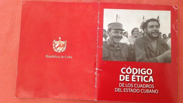 El Código de Ética de los cuadros del Estado cubano. (14ymedio)