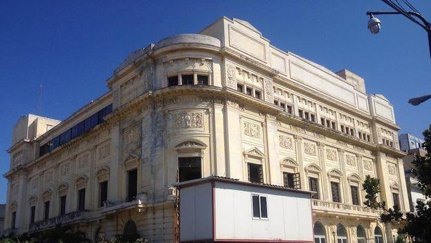 Comienzan las obras de reparación en el Teatro Auditorium Amadeo Roldán. (14ymedio)