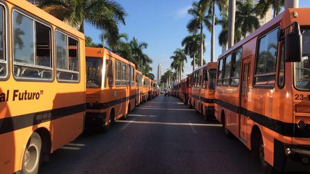 La Comisión Nacional de Seguridad Vial había previsto las interrupciones en el tráfico. (14ymedio)