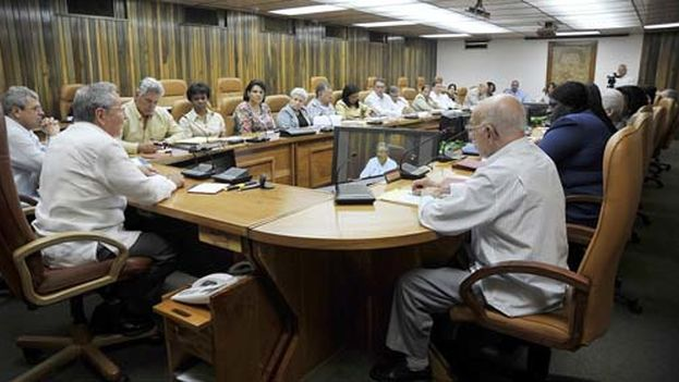 Consejo de Estado de Cuba. (Granma)