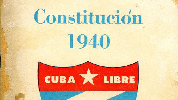Constitución de 1940. Cuba