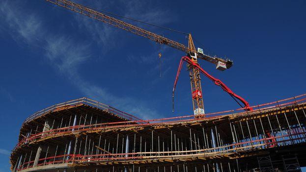 Construcción de viviendas. (CC)