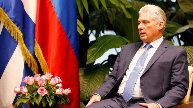 El presidente de Cuba, Miguel Díaz-Canel. (EFE/Ernesto Mastrascusa/Archivo)