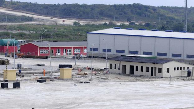 Lugar en construcción de la Zona Especial de Desarrollo del Mariel. (zedmariel.com)