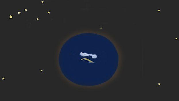 Cuba mi planeta (Dibujo infantil)
