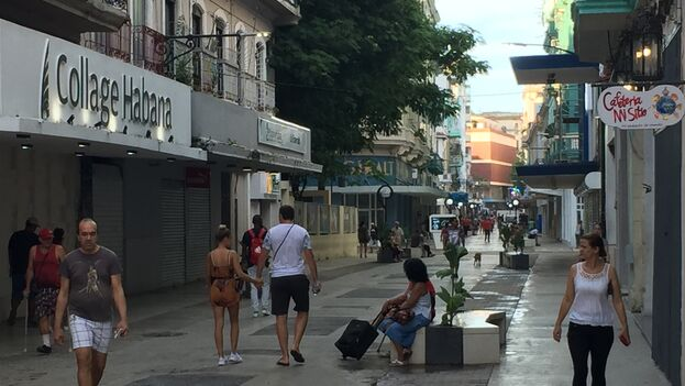 Dar un paseo por el popular Boulevard ya no es un experiencia desagradable. (14ymedio)