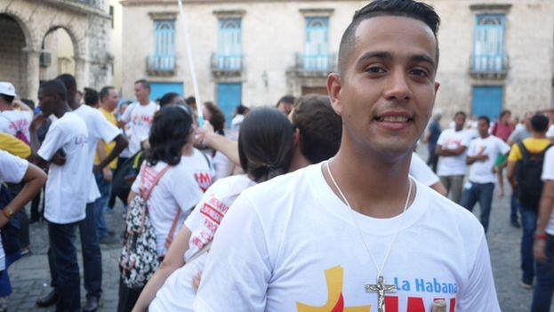 Dariel Hernández, el animador de la pastoral juvenil de la Diócesis de Camagüey. (14ymedio)