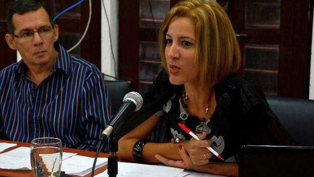 Dayamis Sotolongo Rojas, de Escambray, rechazó la nominación al premio de Ipys. (Vicente Brito/ Escambray)