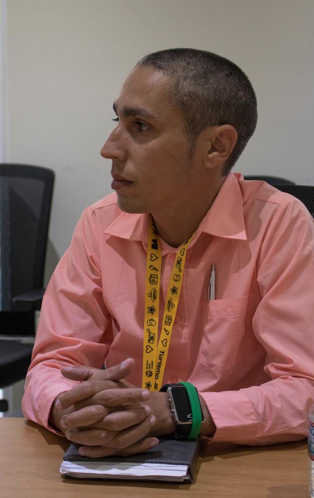 Mario José Delgado González, activista y director de la Fundación Cubana Cristiana Divina Esperanza. (Milkos D. Sosa)