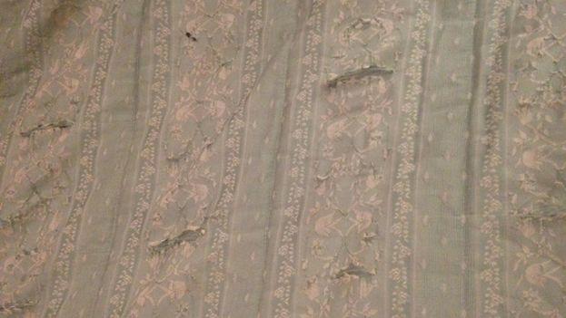 Detalle en el interior del Hotel Plaza, en Habana Vieja. (14ymedio)