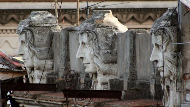 Detalles arquitectónicos de La Habana (Foto Silvia Corbelle)