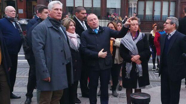 La gira europea del presidente Miguel Díaz-Canel tuvo una parada en Irlanda antes del viaje que llevará al mandatario a Rusia, Bielorrusia y Azerbayán antes de asistir a la XVIII Cumbre del Movimiento de Países No Alineados. (Presidencia)
