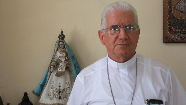 En la imagen, Dionisio García Ibáñez, arzobispo de Santiago de Cuba. (Redes)