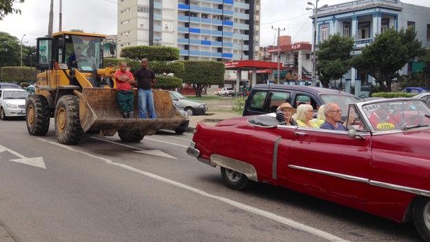 Distinta formas de moverse en Cuba. (14ymedio)