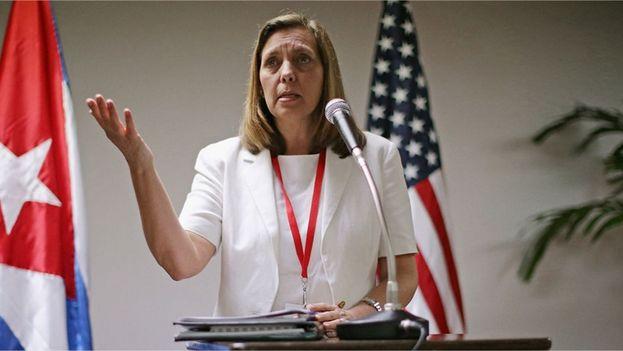 La directora general para EE.UU del Ministerio cubano de Exteriores, Josefina Vidal. (EFE)