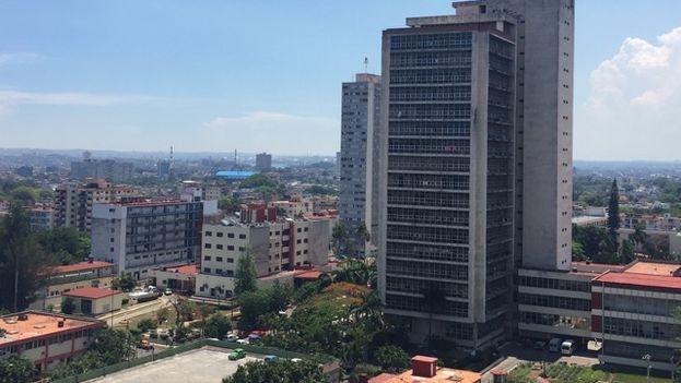 Edificio del Ministerio de Agricultura cubano. (14ymedio)
