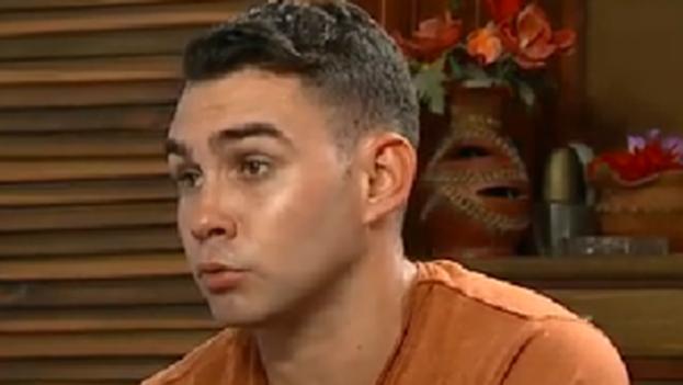 Elián González durante la entrevista concedida a ABC News