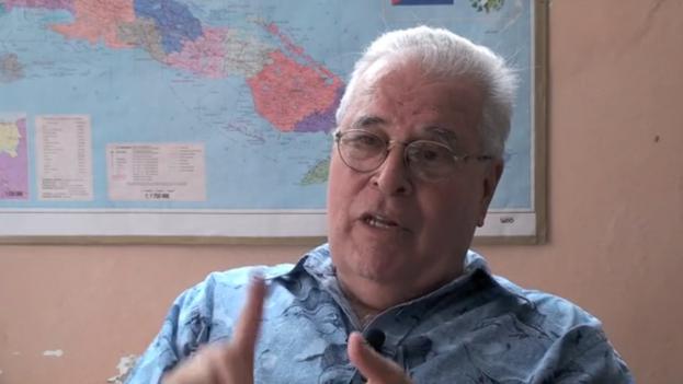 Elizardo Sánchez, portavoz de la Comisión Cubana de Derechos Humanos y Reconciliación Nacional