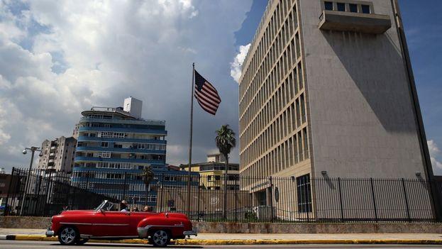 Embajada de Estados Unidos en La Habana. (EFE)