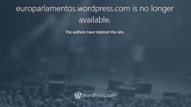 """La página web que dio la supuesta noticia sobre la """"Enmienda Fariñas"""" fue borrada tras la suspensión de la huelga por parte del disidente. (CC)"""