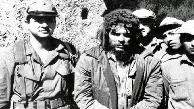 Ernesto Guevara poco antes de morir en La Higuera, Bolivia. (D.R.)