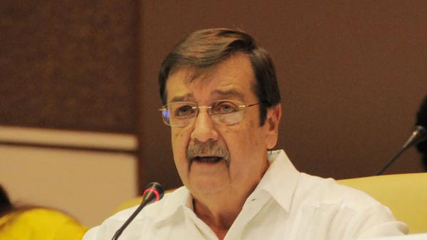 Los medios oficiales no han dado motivos sobre la destitución de Ernesto Medina Villaveirán de la institución. (Banco Central de Cuba)