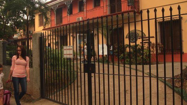 La Escuela Internacional de La Habana en la calle 18, en Miramar. (14ymedio)