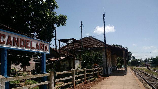 Estación de Trenes de Candelaria, provincia de Artemisa. (14ymedio)