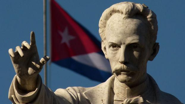 Estatua de José Martí en Cuba