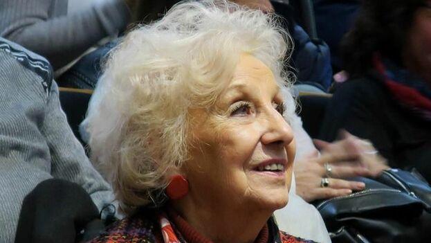 Estela de Carlotto, presidenta de las Abuelas de Plaza de Mayo. (EFE/Archivo)