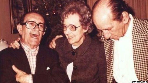 Eugenio Florit, Lydia Cabrera y Enrique Labrador Ruiz. (Cubanet)