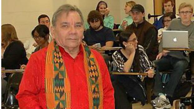 Tomás Fernández Robaina en una visita a la Universidad de Missouri-Columbia. (Universidad de Missouri)