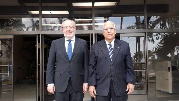 Fernando Garcia Casas y Ricardo Casabrisas anunciaron una próxima reunión para el mes de junio. (@GarciaCasasF)