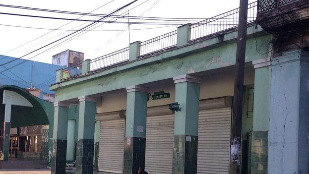 Ferretería enclavada donde una vez estuvo el cine Tosca (Foto 14ymedio)