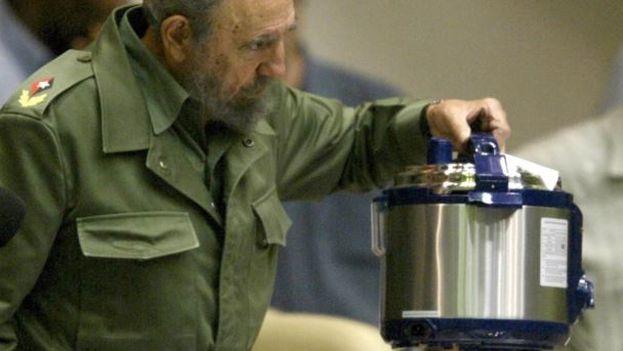 Fidel Castro en la Asamblea Nacional