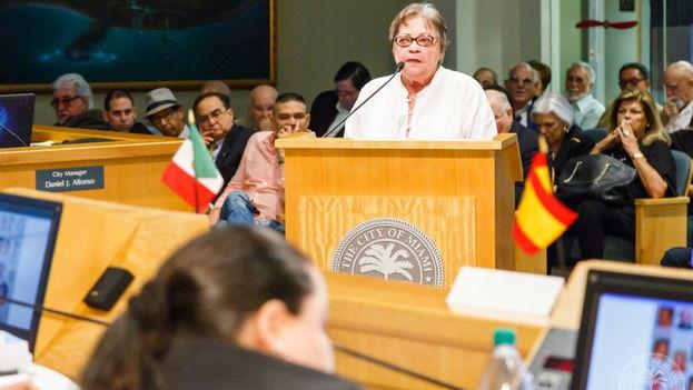 En menos de un año desde su creación, la Comisión Justicia Cuba para la Fiscalización de los Crímenes de Lesa Humanidad del Régimen Castrista ha realizado dos audiencias públicas. (EFE)