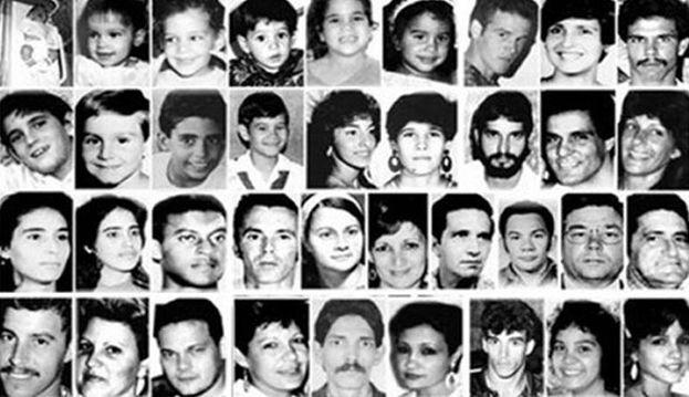 Fotografías de las víctimas de la masacre del Remolcador 13 de Marzo. (CC)