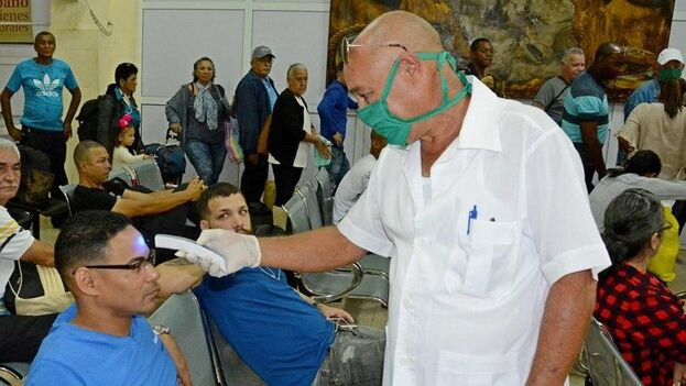 En la televisión nacional el doctor Francisco Durán informó de dos nuevos casos de Covid-19 en Cuba para un total de 7 casos positivos. (Salud Isla de la Juventud)