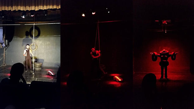 Función única de 'Máquina Hamlet' en Santiago de Cuba. (Facebook)