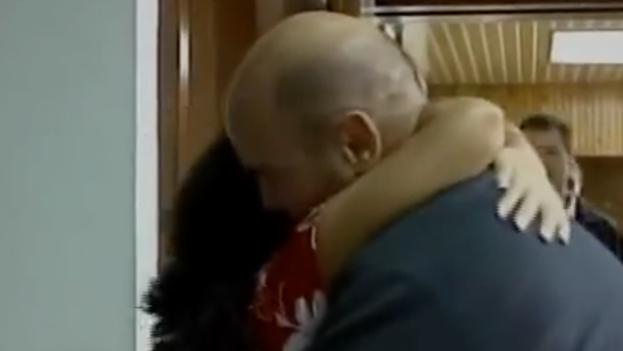 Gerardo Hernández y Adriana Pérez. (Foto de Pantalla)