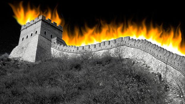 La Gran Muralla china como símbolo del Gran Cortafuegos. (Ryan M Mclaughlin)
